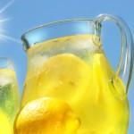 Ice Cold Lemonade Drink