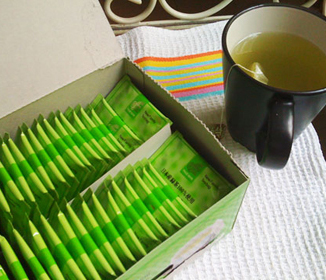 Green Tea Tips