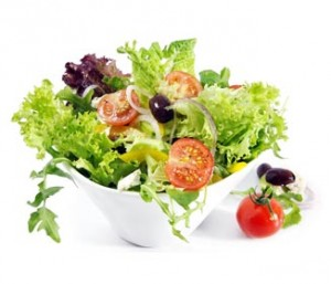 Tossed Salad with Our Basic Dressing