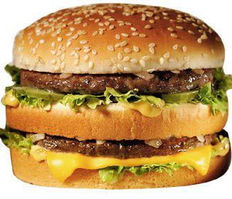 Fast Food Big Mac
